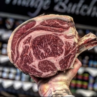 Dry Aged ForeRib Of Beef